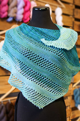 Smooth Sailing Shawl Kit