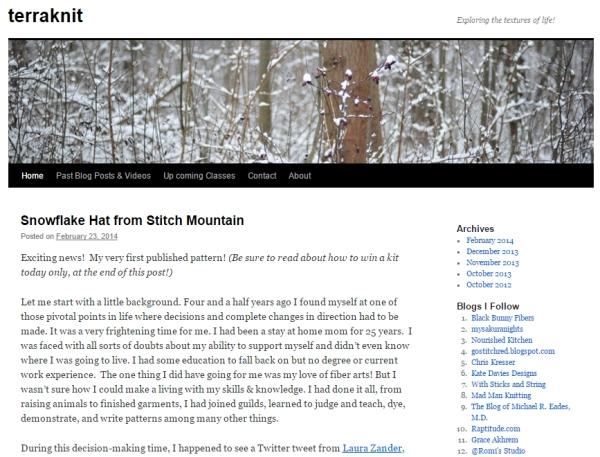 SnowflakeHatStitchMountain