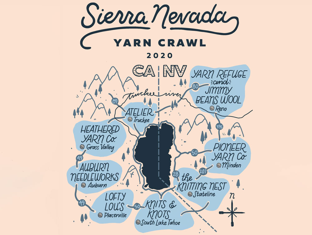 Sierra Nevada Yarn Crawl 2020