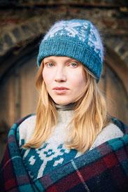 Rowan Felted Tweed & Kidsilk Haze Solveig Hat Kit