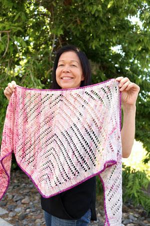 Sorbet Sprinkles Shawl Free Pattern