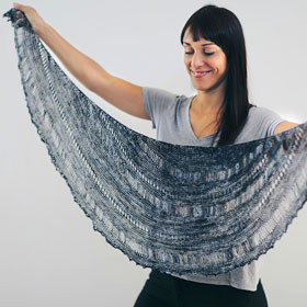 Joji Locatelli Malabrigo Storm Shawl Kit