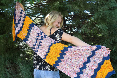 Summer Celebration Shawl Free Pattern