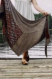 Madelinetosh Tosh Sock Teroldego Shawl Kit