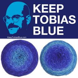 William Merino Gradient - Keep Tobias Blue