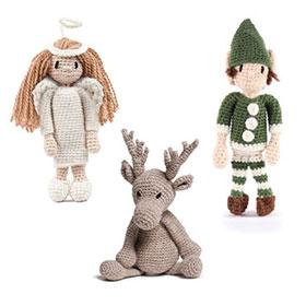 Toft Amigurumi Crochet Kit kits Mini Angel Doll