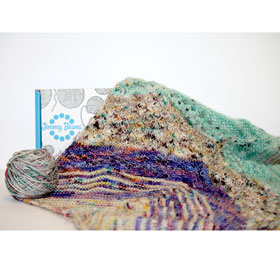 Tosh Bespeckled Shawl Club Tosh Blanket Club Tosh Collectors Club