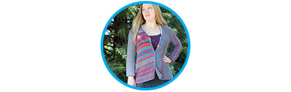 Projects On Our Needles! - Trendsetter Yarns Multi Directional Cardigan