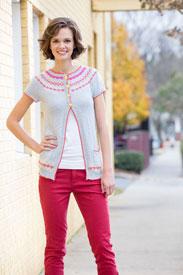 Universal Yarn Colorwork Cardi Kit