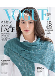 Vogue Knitting International Magazine '18 Spring/Summer