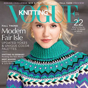 Vogue Knitting International Magazine '18 Fall