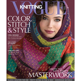 Vogue Knitting International Magazine '20 Late Winter