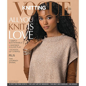 Vogue Knitting International Magazine '20 Fall