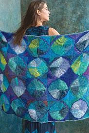 Noro Kureyon Water Lilies Blanket Kit