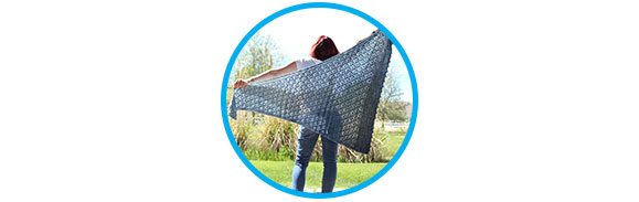 Winni Exhale Shawl Project Log