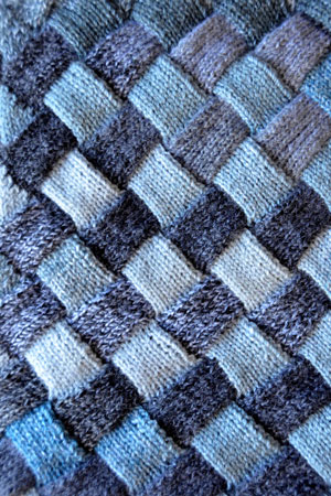 Woven Sky Throw Free Pattern