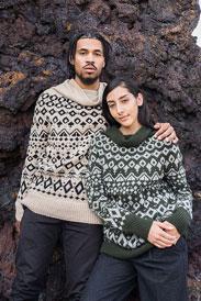 Woolfolk Krater Yoke Pullover Kit