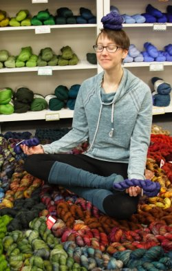 All Zen in our Zen Yarn Garden