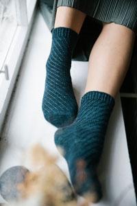 Madelinetosh Dear Bjorn Socks Kity