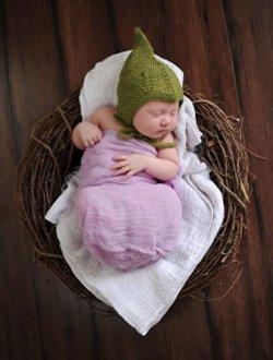 Kristen's Alfalfa Baby Hat