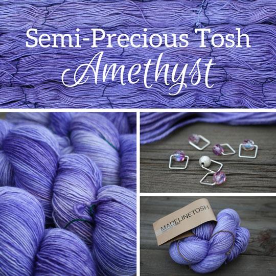 Semi-Precious Tosh Amethyst