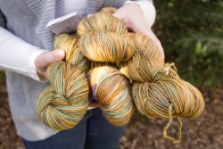 Asparagus and Camenbert yarn - Tosh LE April 2015