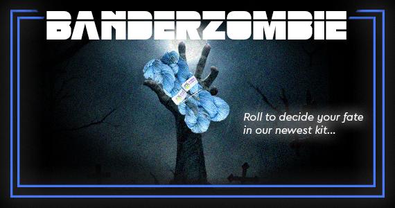 Zombie Yarns Banderzombie