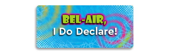 Bel-Air I Do Declare Button
