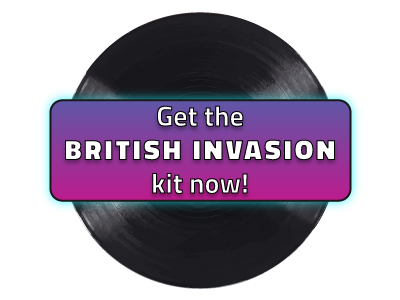 Get the official British Invasion kit here!