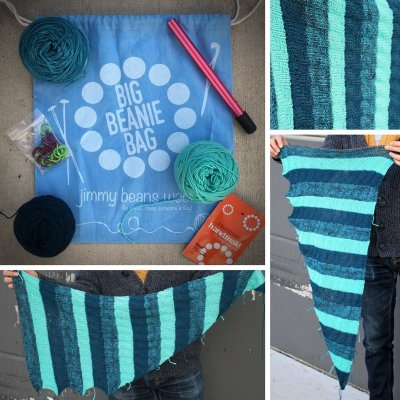 Big Beanie Bag Shawl