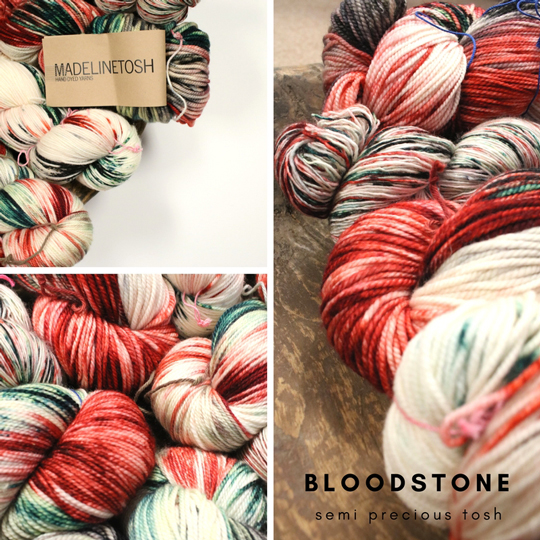 Tosh Semi-Precious Bloodstone is here!