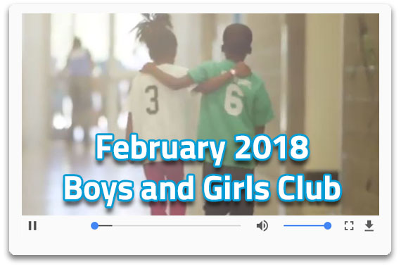 February 2018 Boys and Girls Club