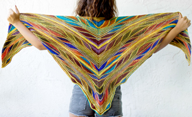 Butterfly/Papillon Shawl