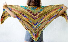 Butterfly/Papillon Shawl
