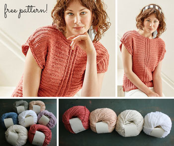Campana Top by Sarah Hatton (FREE PATTERN!)