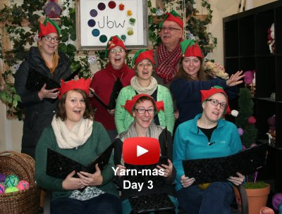 Third Day of Yarn-mas: Fable Fibers!