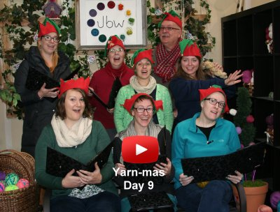 Ninth Day of Yarn-mas: Holiday Yarns!