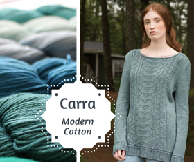 Modern Cotton Carra Pullover