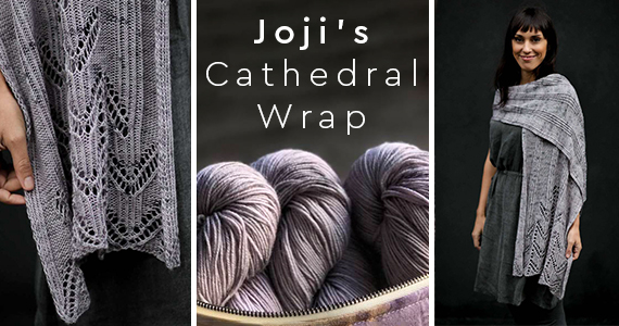 Joji's TNNA Cathedral Shawl