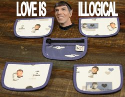 Chicken Boots Pouch - Spock