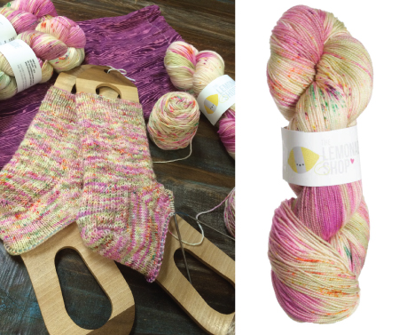 Lemonade Shop Yarns - Simple Sock