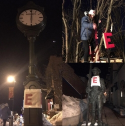 Yarn Bombing at Sundance - Eddie-Style