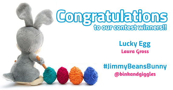 Jimmy Beans Bunny contest winners