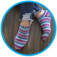 Diana's Fallow Socks