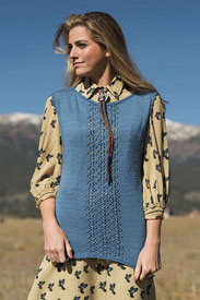 Cascade Heritage Silk Flagstaff Tee Kit - Women's Sleeveless