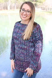Malabrigo Arroyo Greenwich Pullover Kit