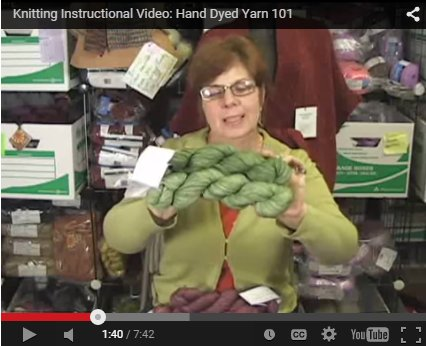 Hand-Dyed Yarns 101 Video