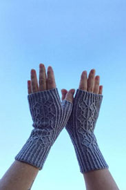 Feel Good Yarn SilverSpun Happy Hands Gloves