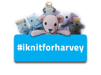 Knit a Royal Petite for the Children of Harvey