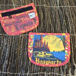 Limited Edition Stitch Marker Pouch - Hogwarts